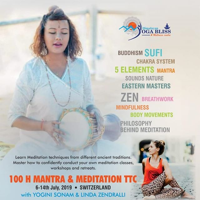 Don't miss this foundational course to help you take baby steps into your practice and understanding of Meditation.  Dive in depth into the various techniques of ancient and contemporary meditation through our upcoming 100 hours MEDITATION TTC at @lequilibre.yoga Switzerland with @himalayan_yoga_bliss @yoga_fragrance *** Understand that Meditation is an absolute state of awareness and discover ways to be in this state of Presence. *** Unfold the ancient Yoga Sutra philosophy behind DHYAN/ JNANA / BHAKTI / KARMA/ MANTRA and their goal towards Meditation. *** Learn how to organise your own  meditation retreats, classes and workshops. *** Certified by YOGA ALLIANCE... Limited seats available, Pre registration is required! 🙏  #meditation #himalayan #trouvelequilibregraceauyoga #yogafragrance #seeker