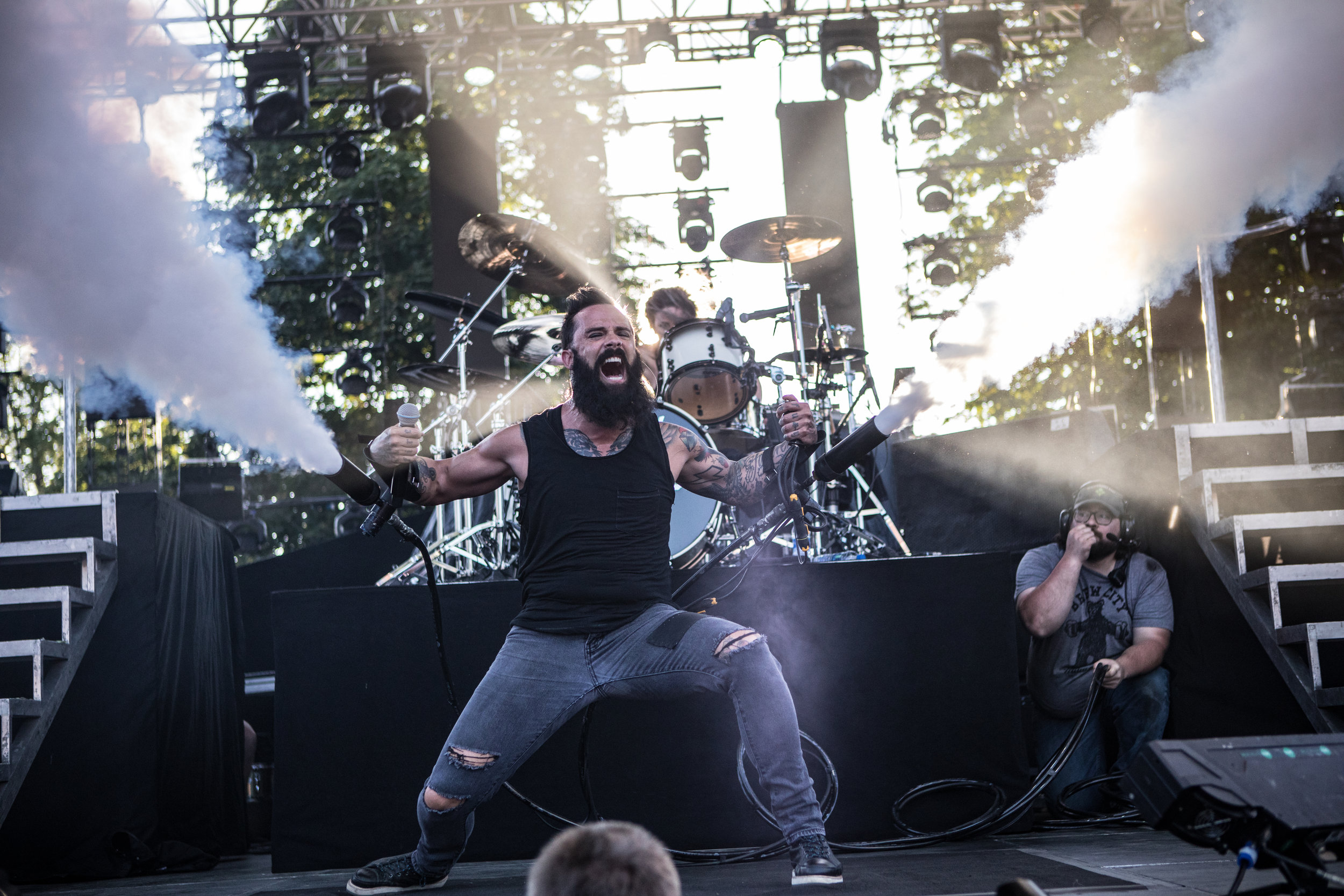 Skillet at Inkcarceration Festival July 12, 2019  Photo Credit: Tyler Neading Film and Photography Instagram: @tneading
