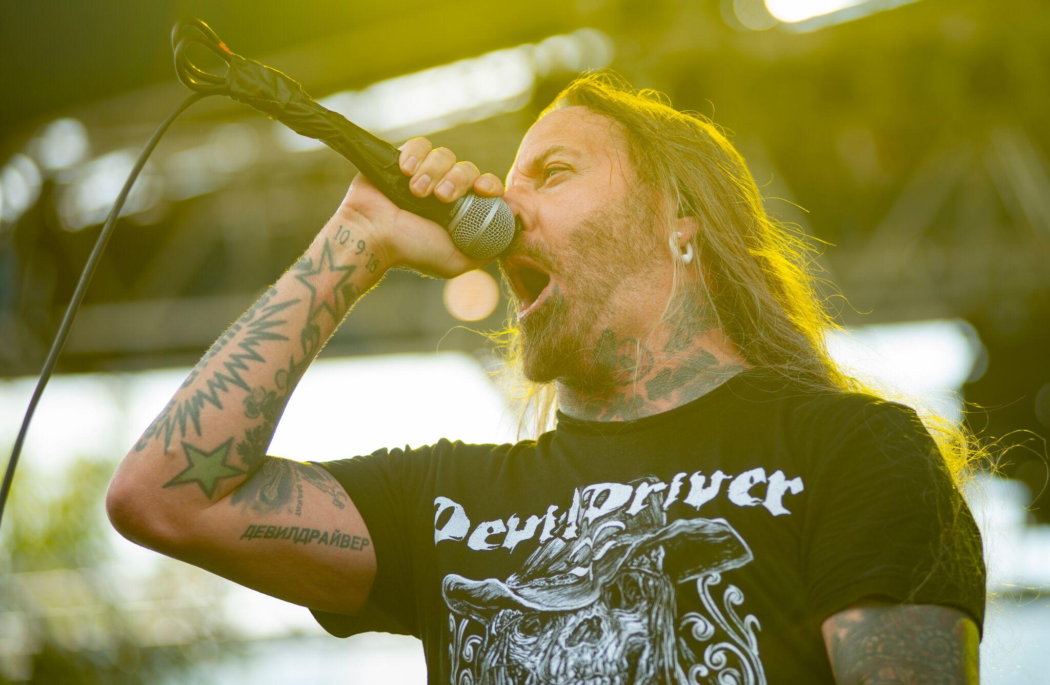 DevilDriver at Inkcarceration Festival July 15th 2018
