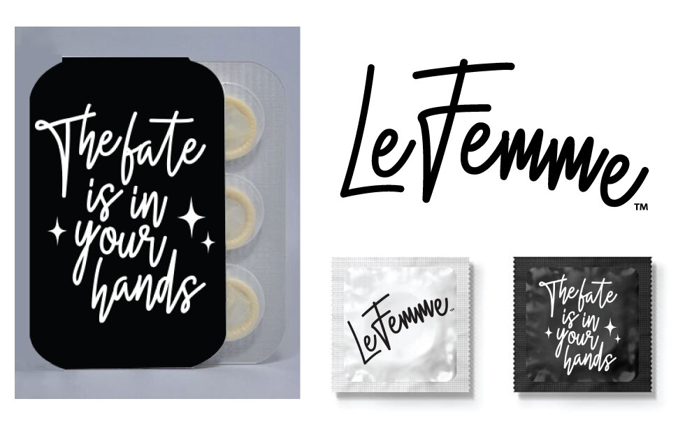 Le Femme - Beauty Blender - Branding/Packaging