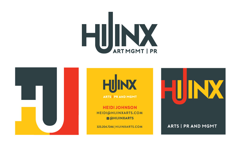 Hijinx PR | Art Management - Branding/Business Cards