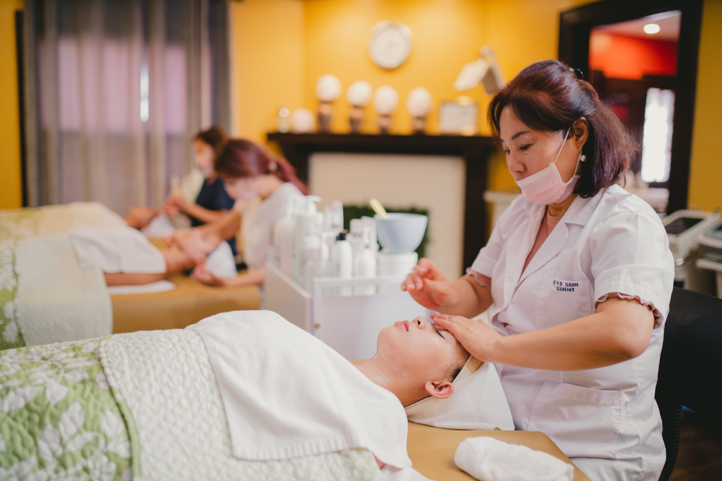 Group Friendly - Although our skin care services are an excellent way to escape everyday stress and rejuvenate your skin, our services are great for groups as well!