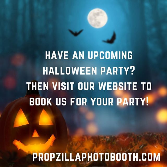 Visit the link in our bio to book your party 🎃👻💀🧛🏻♂️🧟♀️