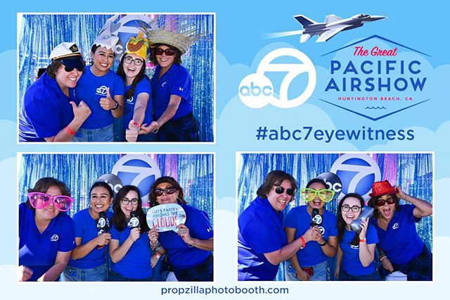 Come hang out with us and @abc7la at the @pacificairshow in Huntington Beach this weekend! 😎✈️🏄🏻♀️ #abc7eyewitness #pacificairshow