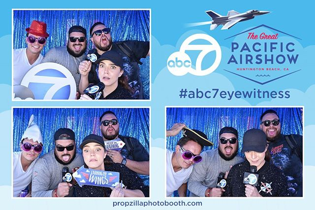 Stop by with your family and friends! We will be setup until 3pm 🤓 @abc7la