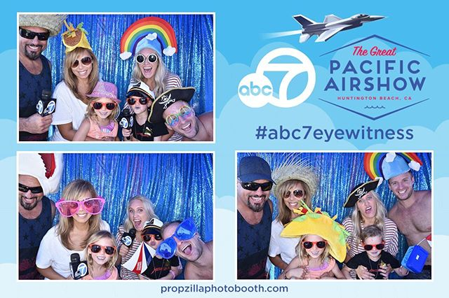 Day two down ✌🏼 of the @pacificairshow with @abc7la @abc7community 😎 Come and hangout with us tomorrow and take some photos! 🤩🙌🏼