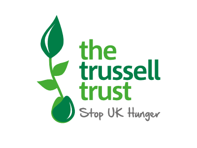 The Trussell Trust - A network of over 420 foodbanks, which work out of more than 1,200 centres across the UK and provide emergency food to people referred for support.