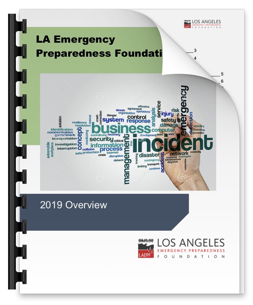 2019 LAEPF Overview Report - LAEPF, October 2019