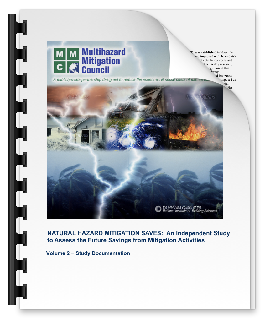 Congressional Report on the Benefit of Mitigation Investment(Volume 2) - Multihazard Mitigation Council, 2005
