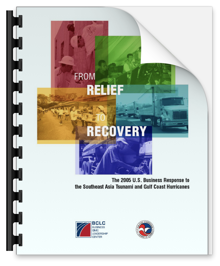 US Chamber of Commerce Report on 2005 Disasters - Business Civic Leadership Center, 2005