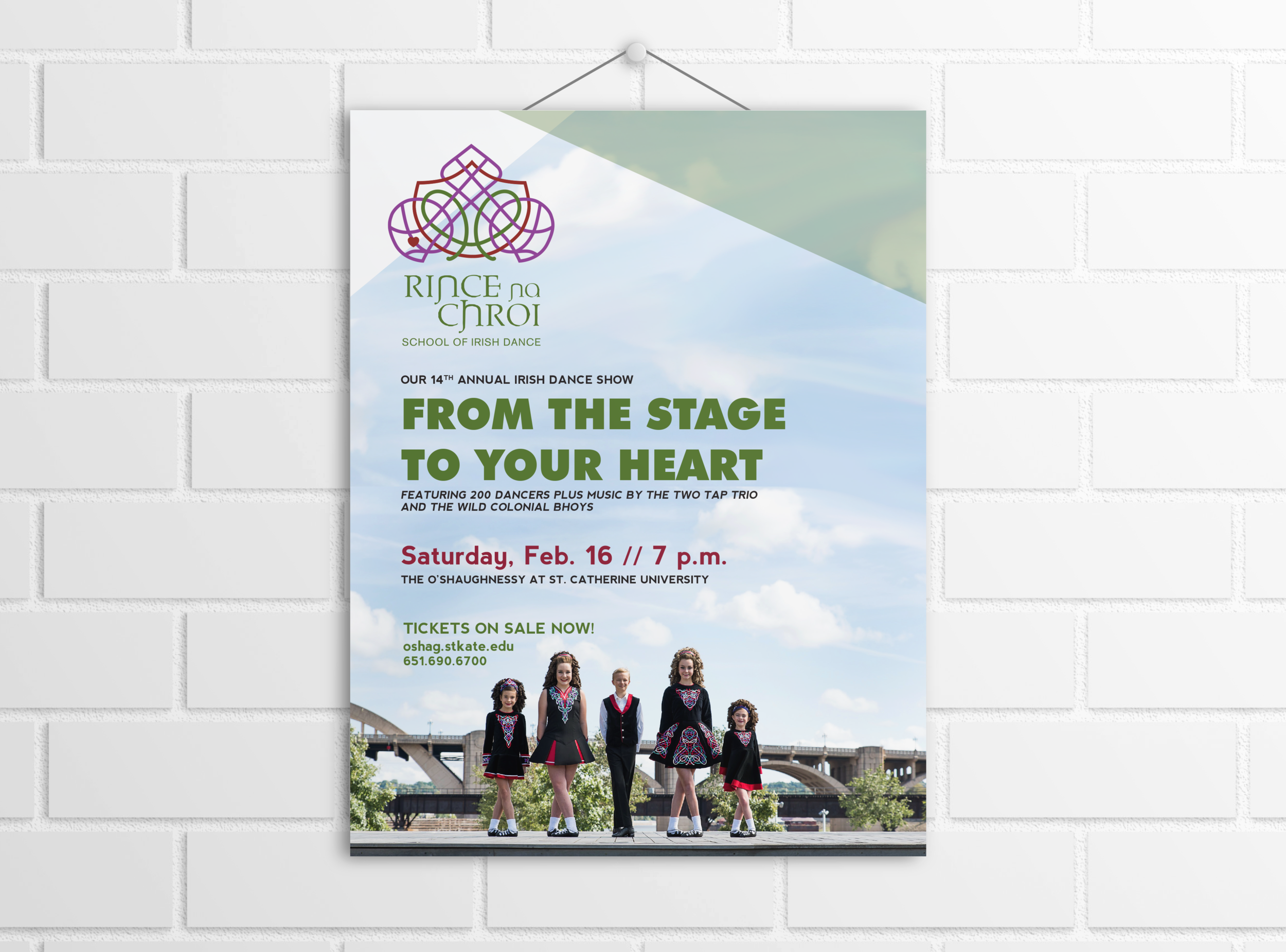 Irish Dance School Poster