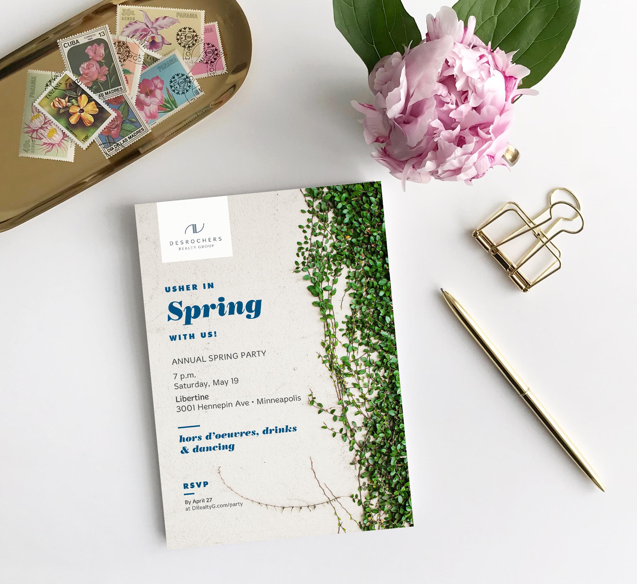 Spring Invitation | Desrochers Realty Group
