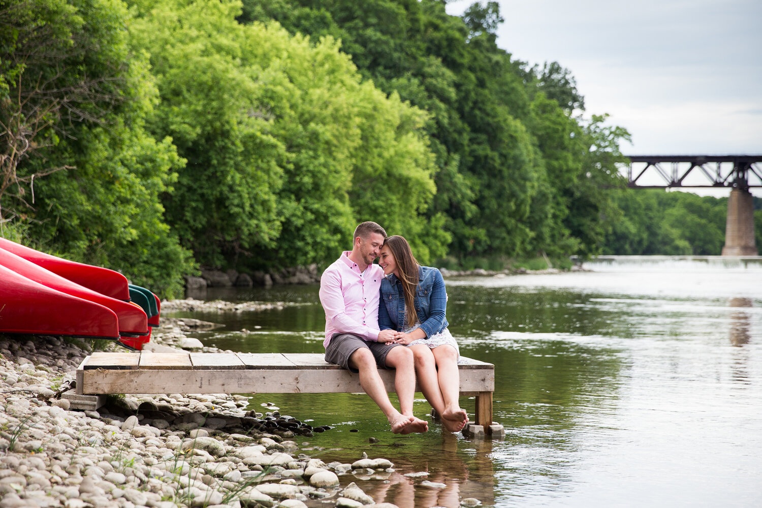 grand river engagment pictures
