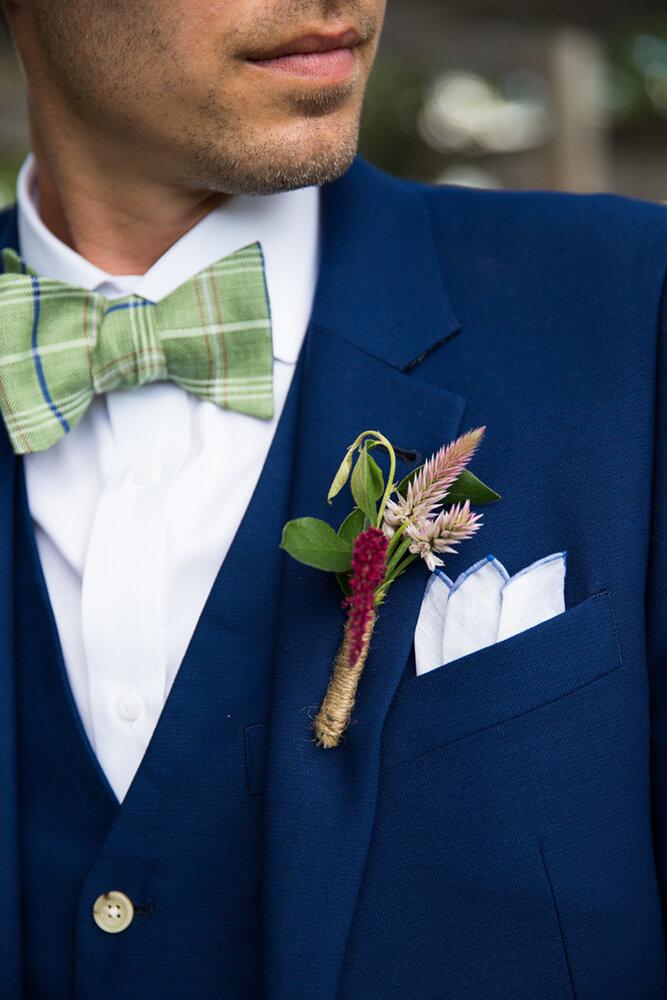 wedding day groom