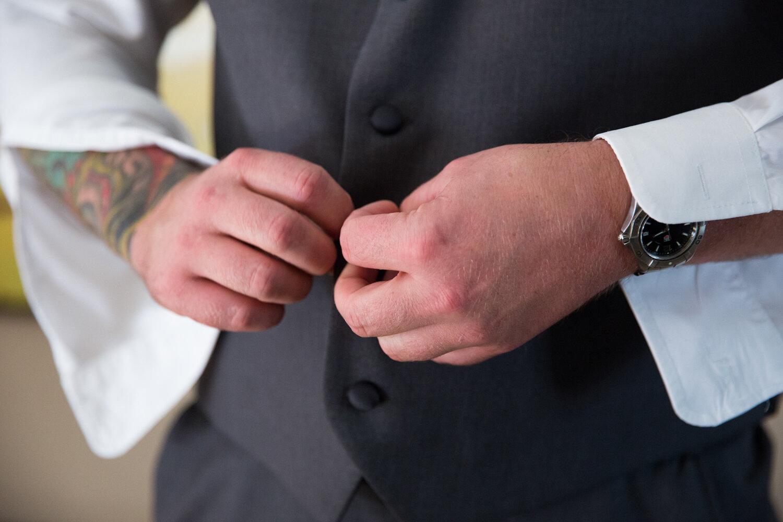 wedding day tattoo