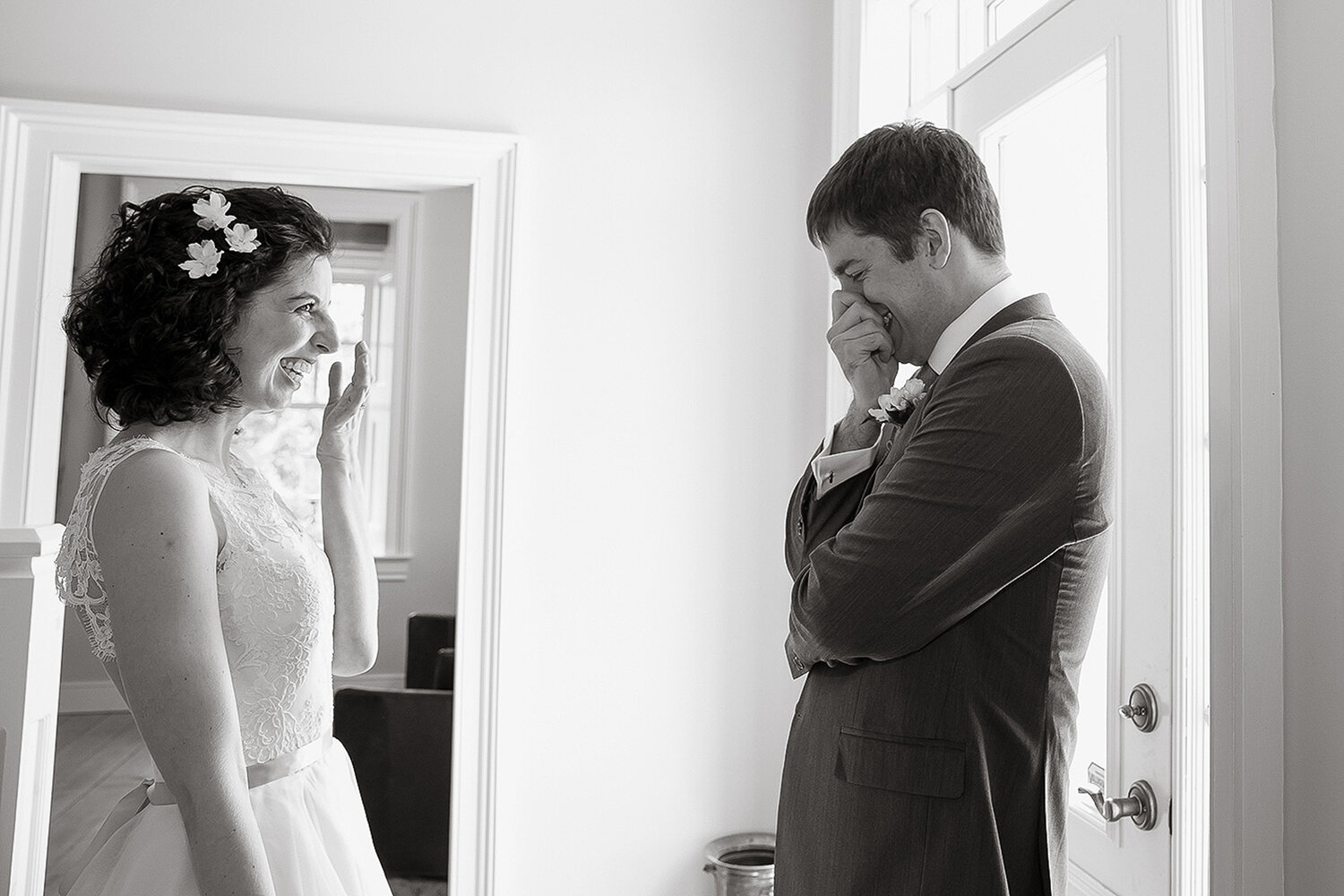 groom crying picture