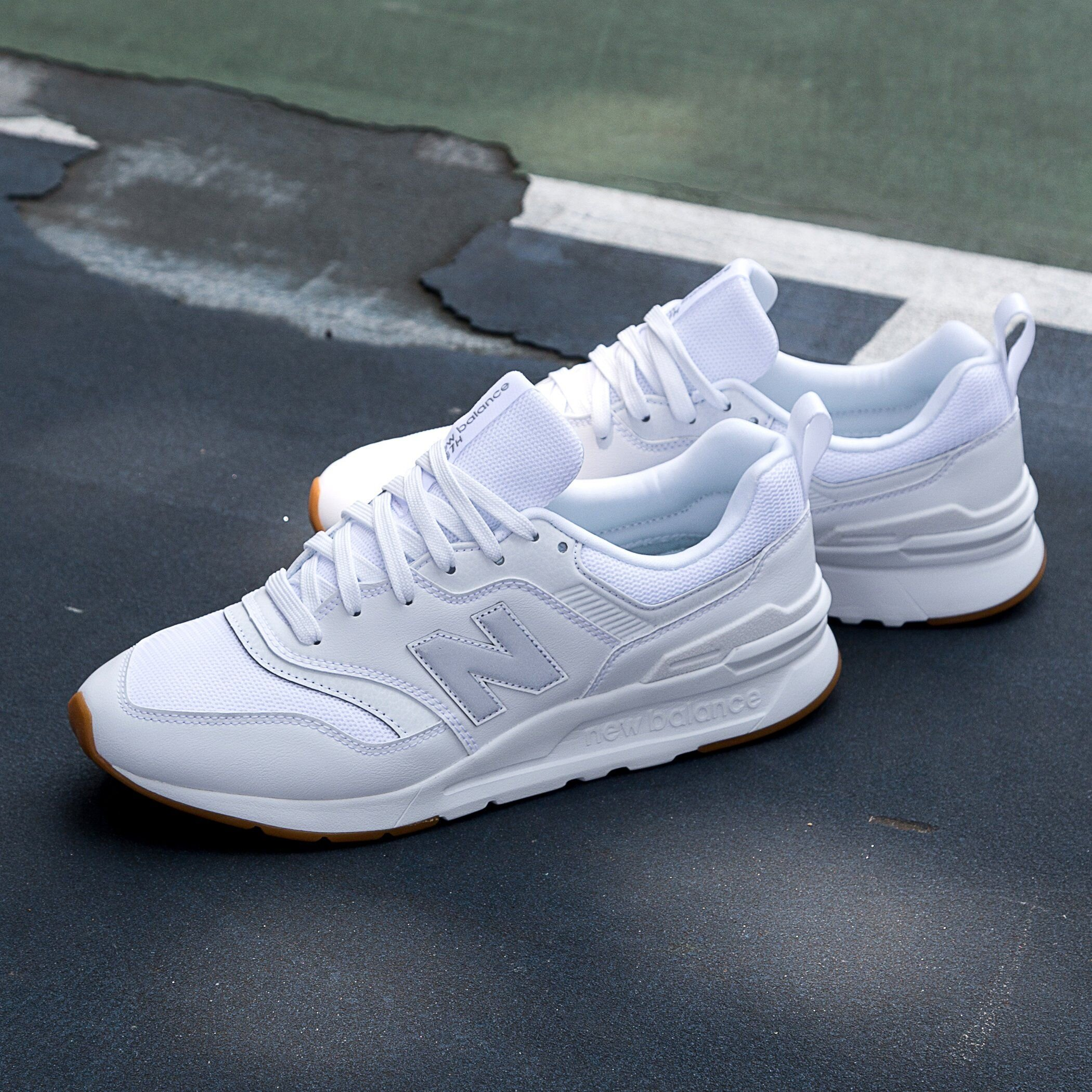 new balance 997h white
