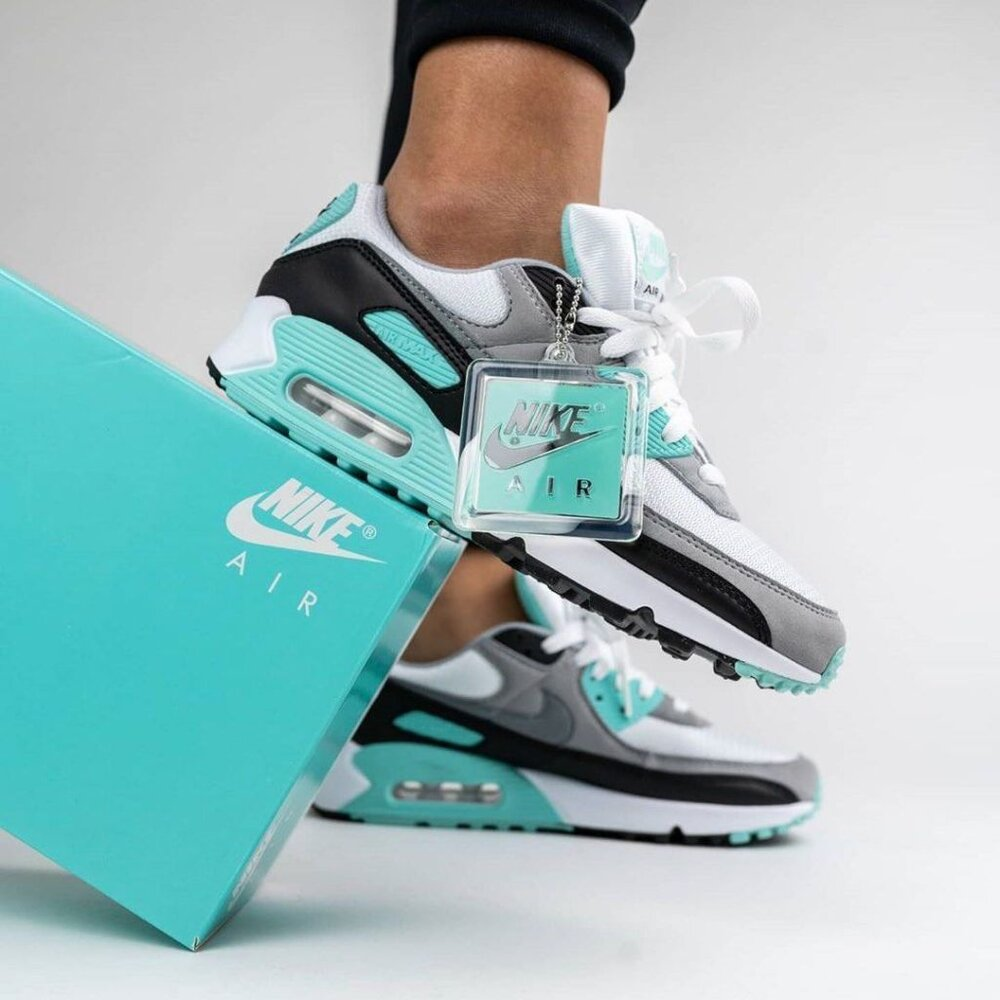 """The Nike Air Max 90 Re-Craft """"Hyper Turquoise"""" Is On Sale For ..."""
