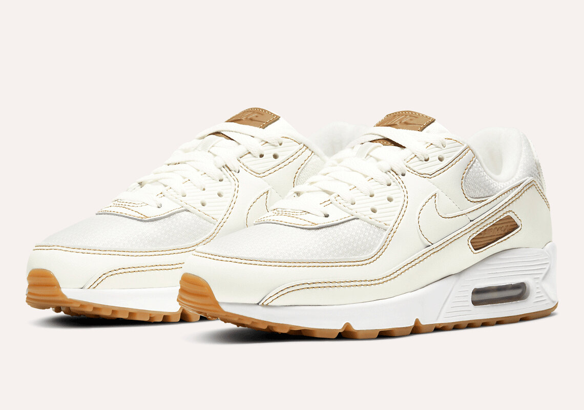 The Nike Air Max 90 Twist 'Summit White/Gum' On Sale For $96.00 ...