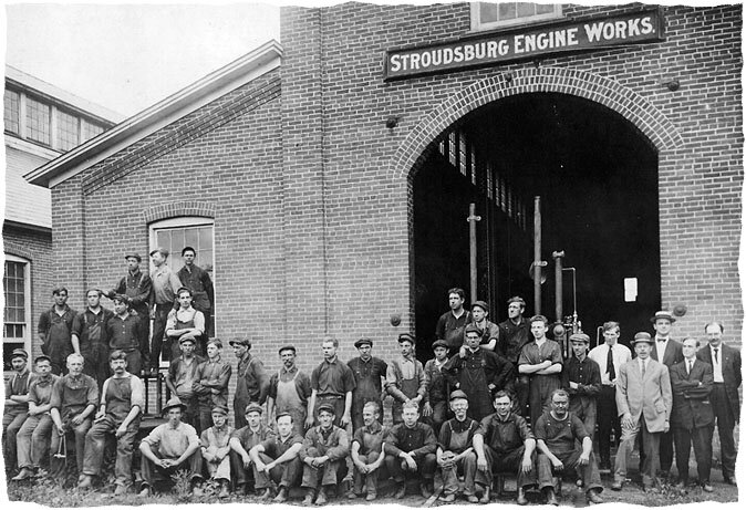 The Olde Engine Works, circa 1910