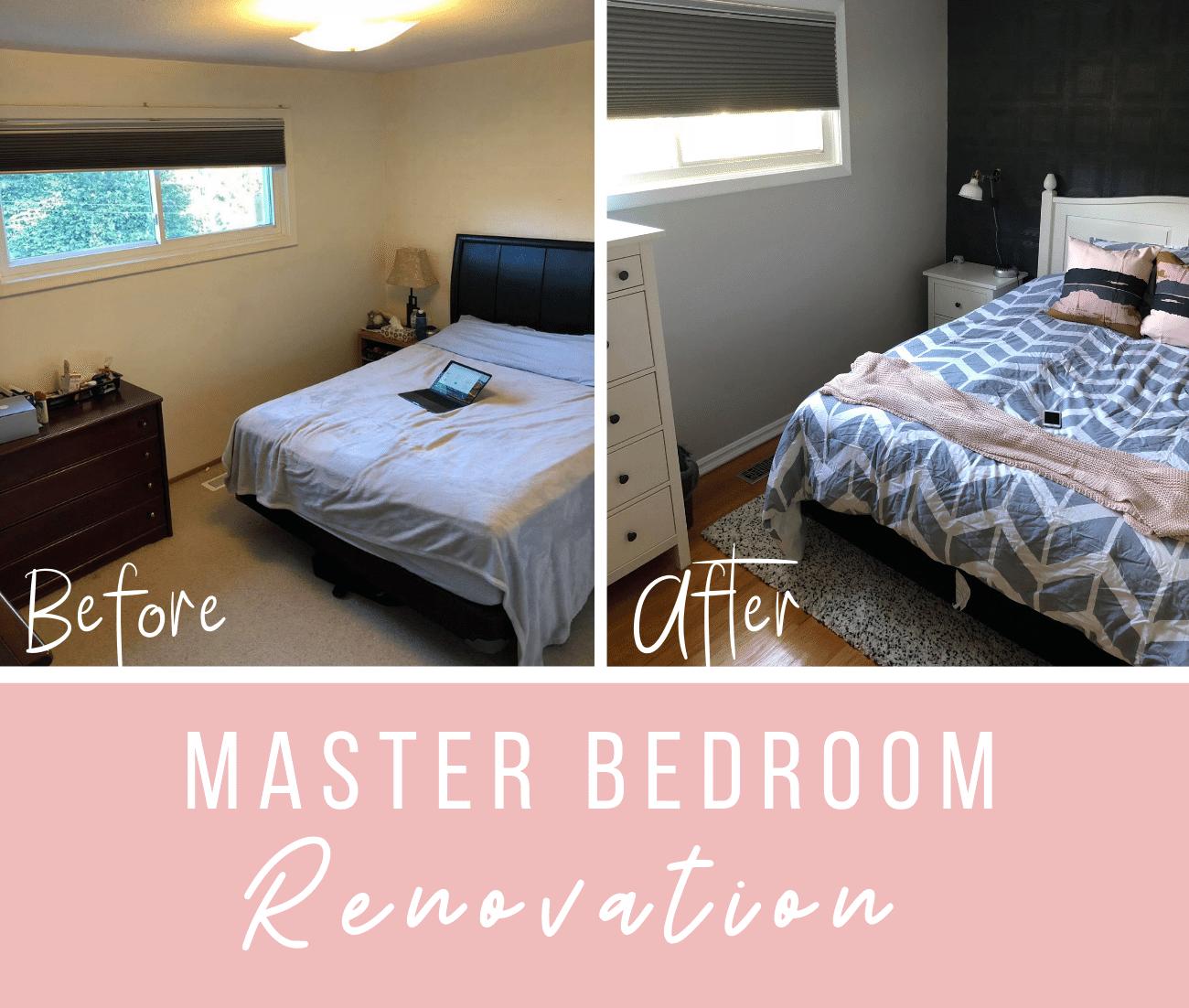 Making A Safe Space Our Master Bedroom Renovation Lauren M