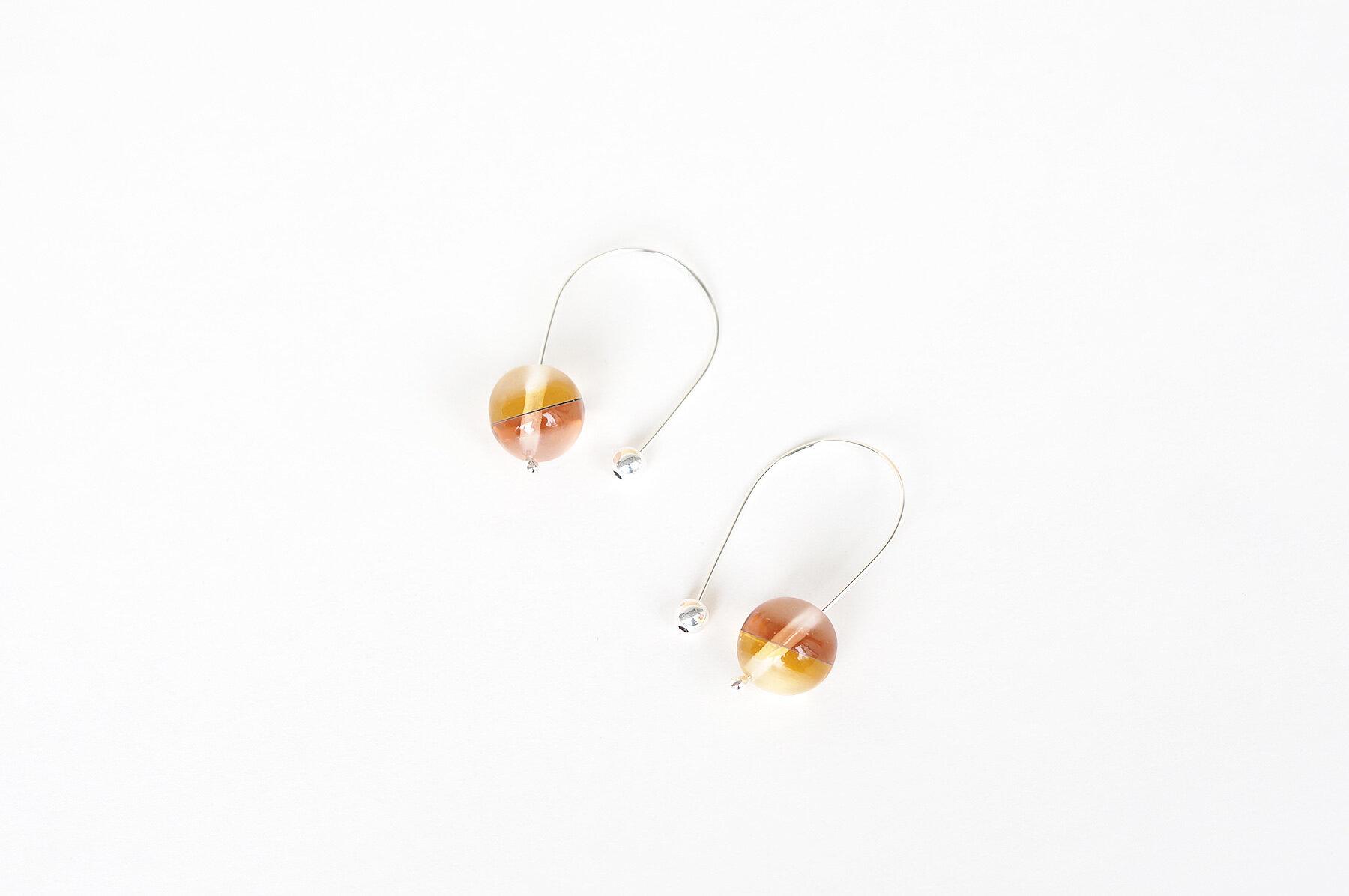 Sphere Earrings RG copy.jpg