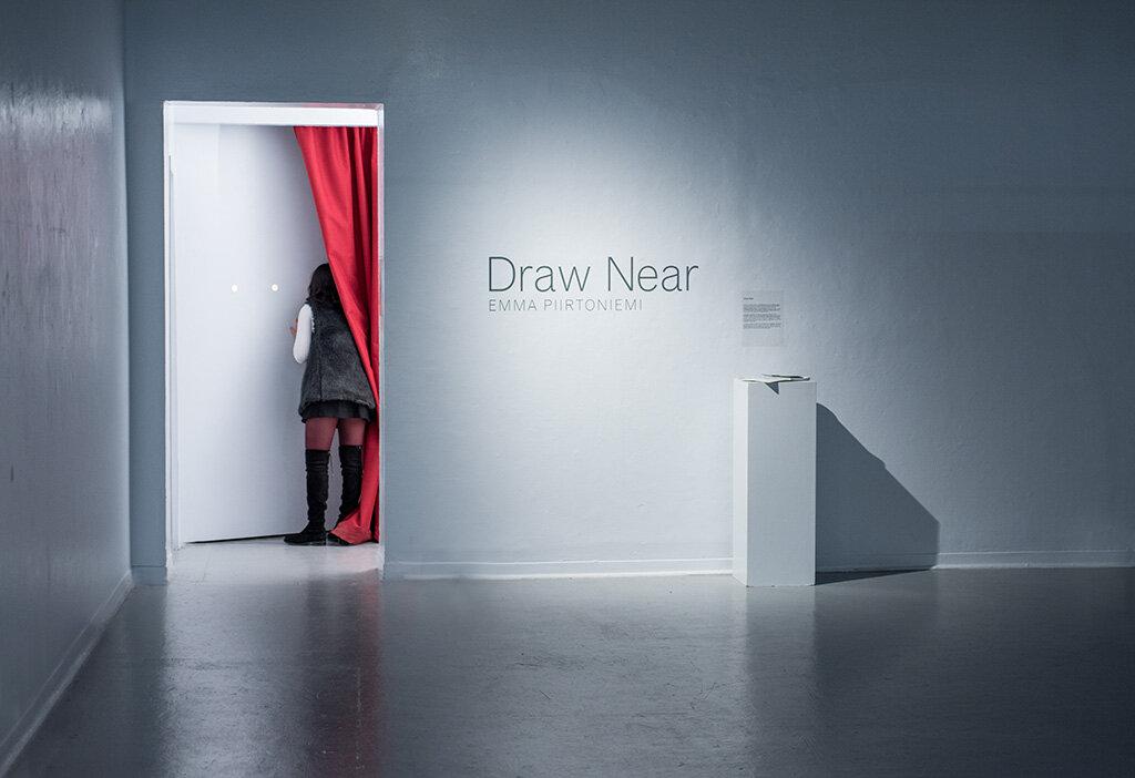 Draw Near  in situ, Anna Leonowens Gallery Image by Grace Laemmler