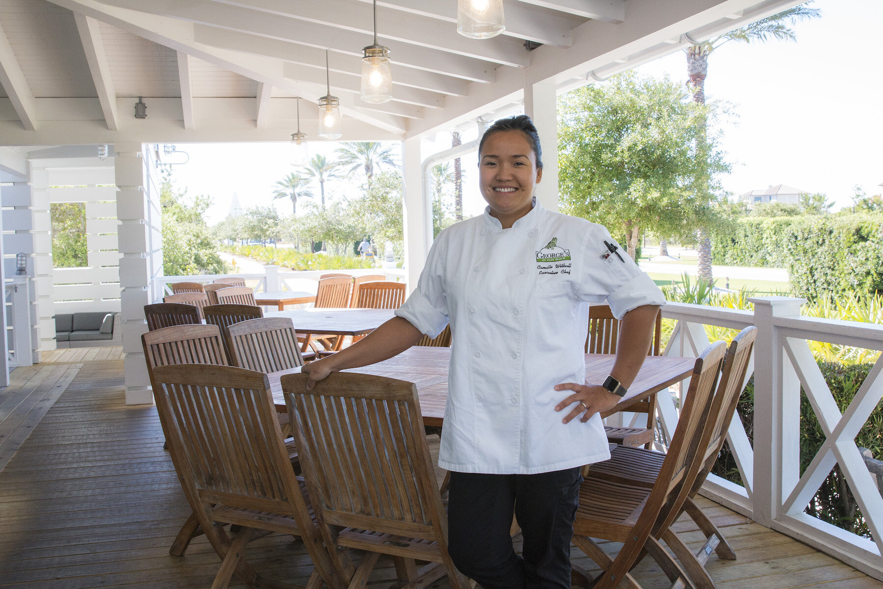 Camille Withall - Executive Chef