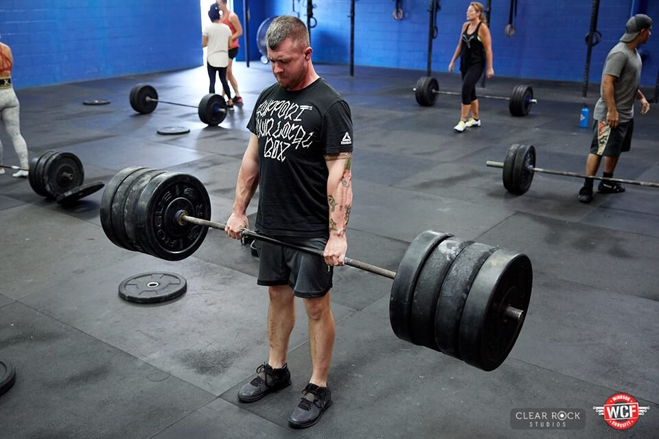 Gainz Strength and Strongman Classes - offered three times a week, this class cycles through strength and strongman programming all year long.