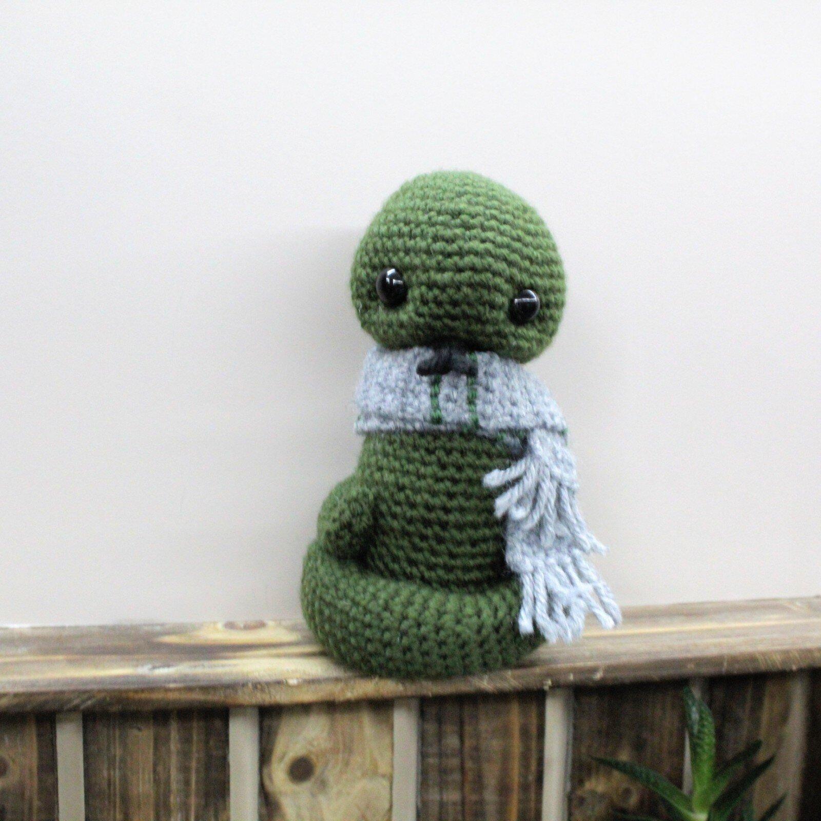 Crochet Rainbow Snake, Free crochet Pattern - GoldenLucyCrafts | 1000x1000