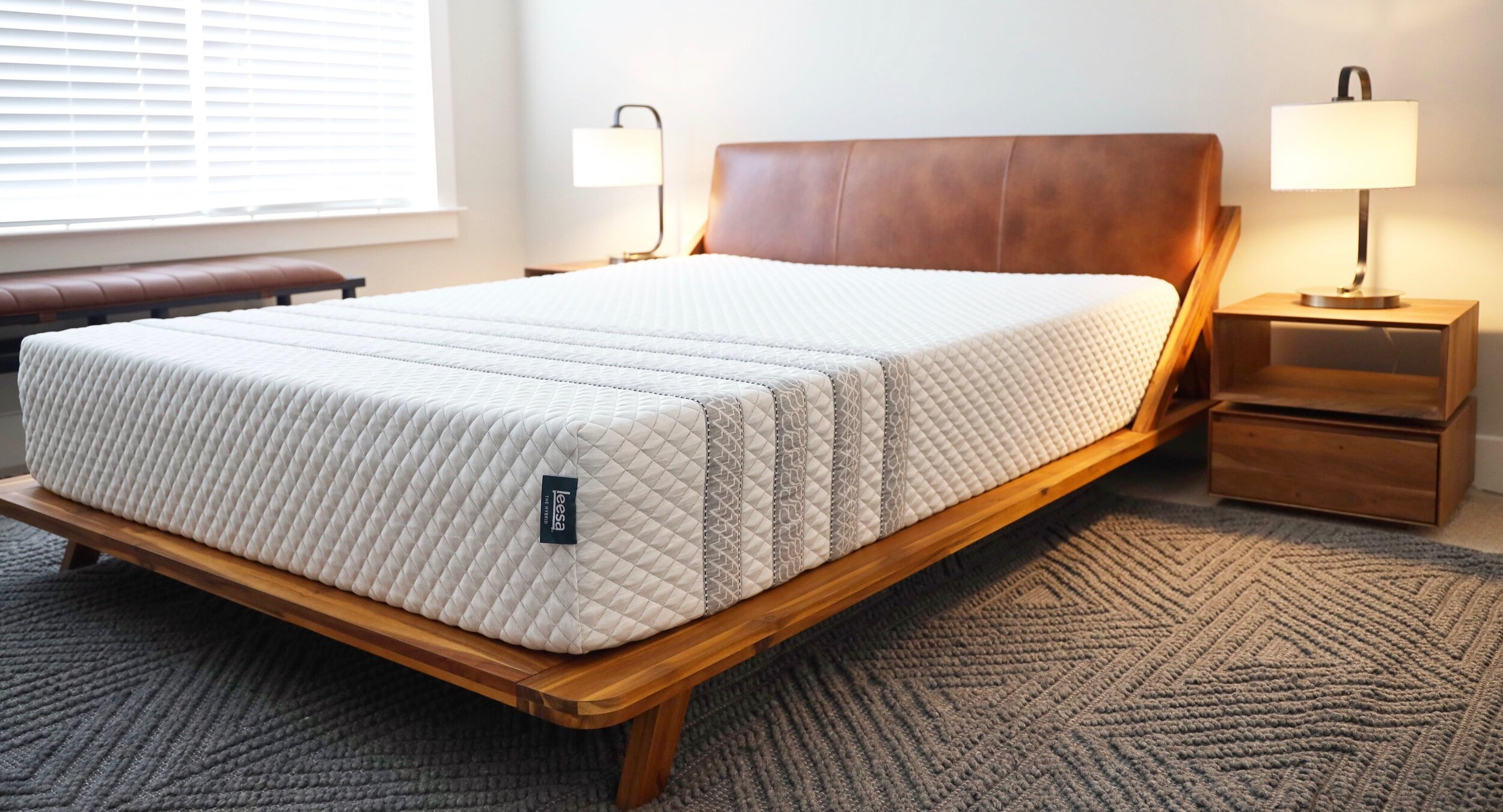 Leesa Hybrid Mattress Product Review Andrewloves