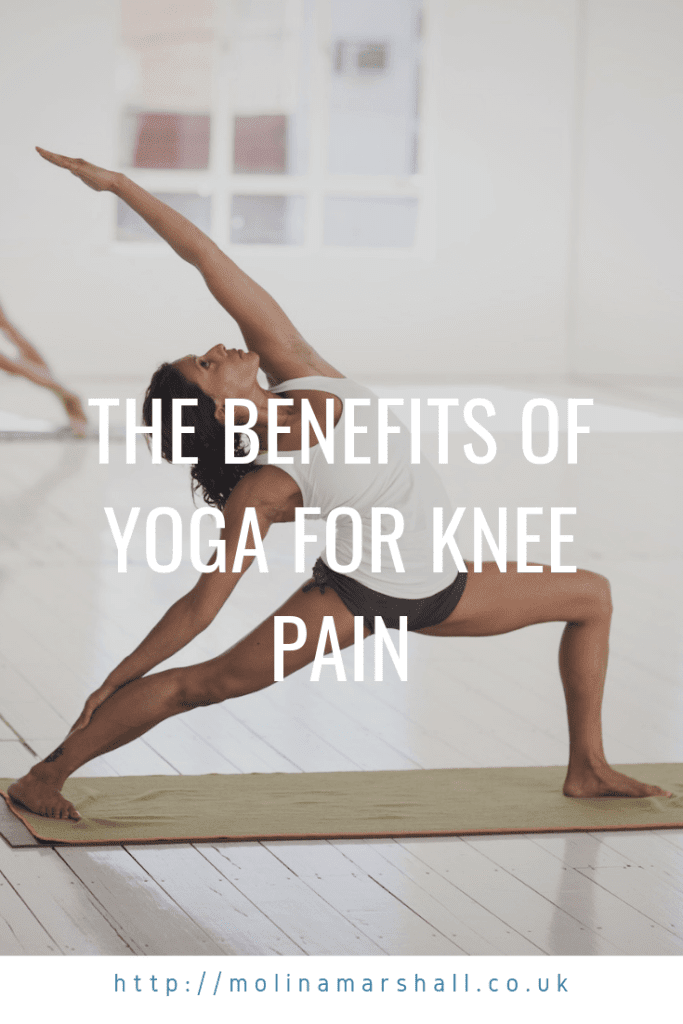 yoga and knee pain