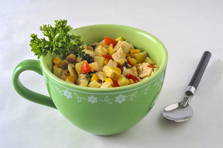Chicken noodle soup for the CERT cookbook.
