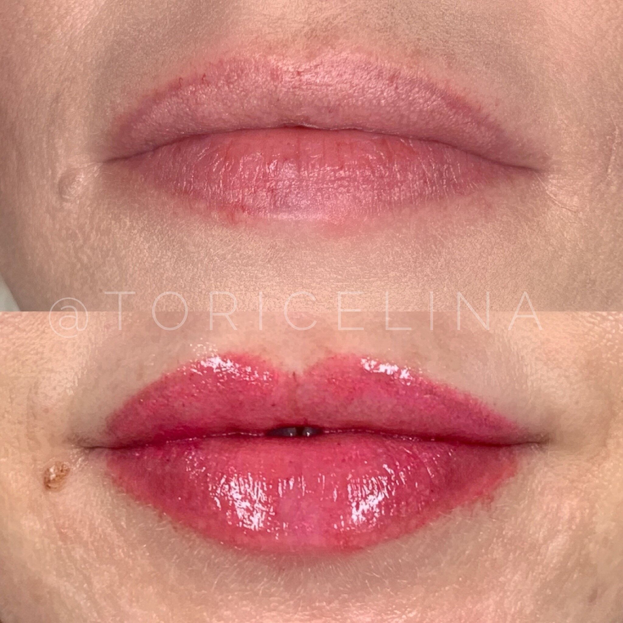 WHAT IS LIPBLUSH? - Lip blush it a form of cosmetic tattooing to enhance your natural lip color, shape and definition to create the illusion of a fuller lip. This is NOT a lipstick look.