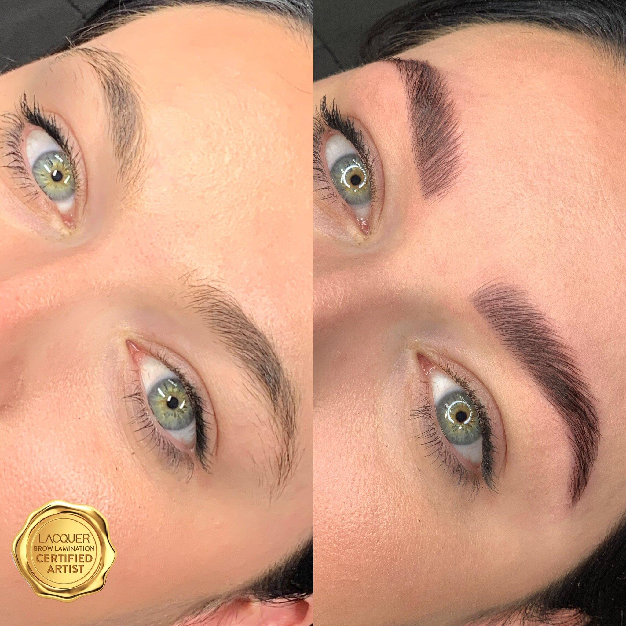 Brow Lamination Tori Celina Beauty