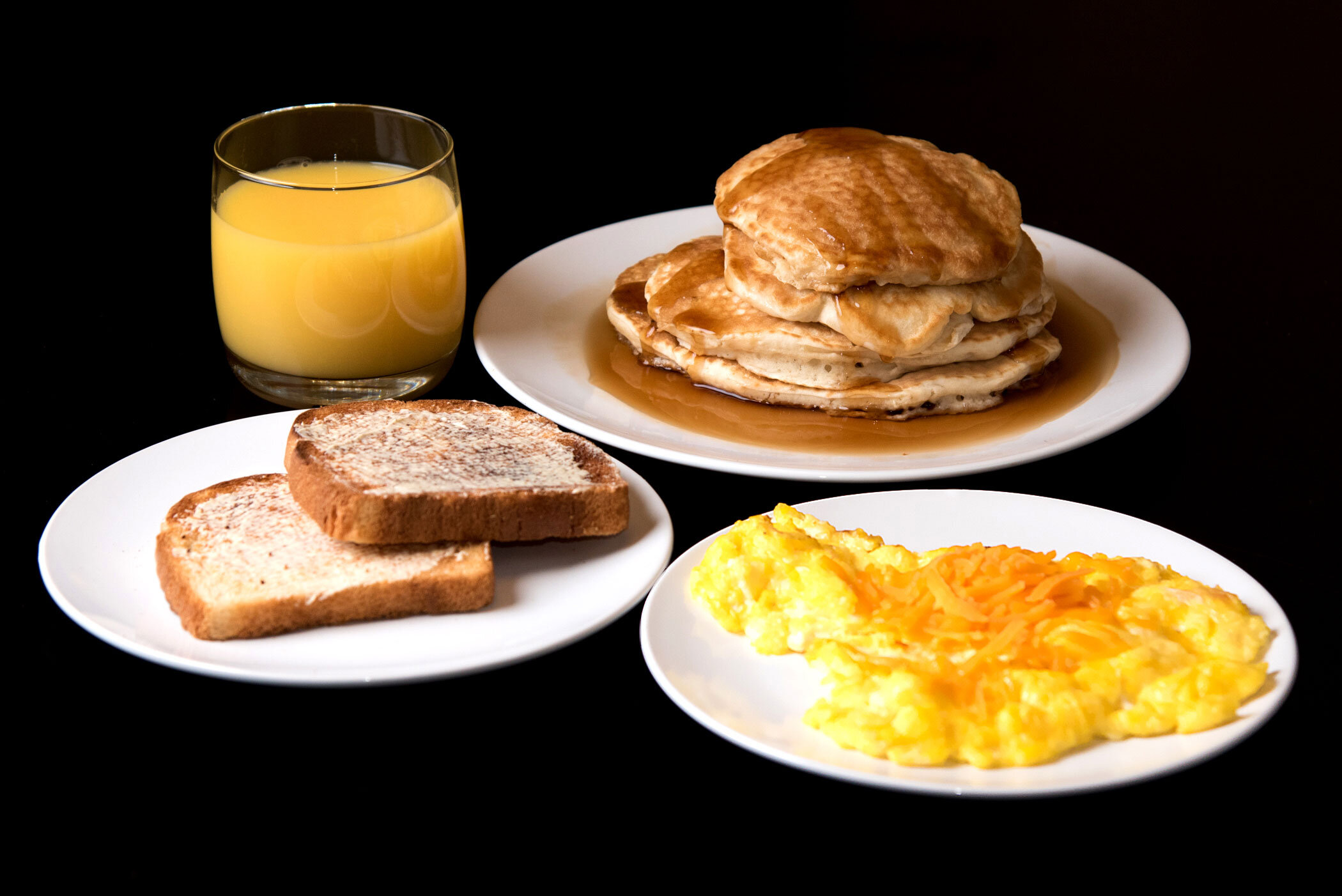 """""""No barking from the dog, no smog, And Momma cooked a breakfast with no hog"""" - Ice Cube, """"It Was A Good Day"""""""