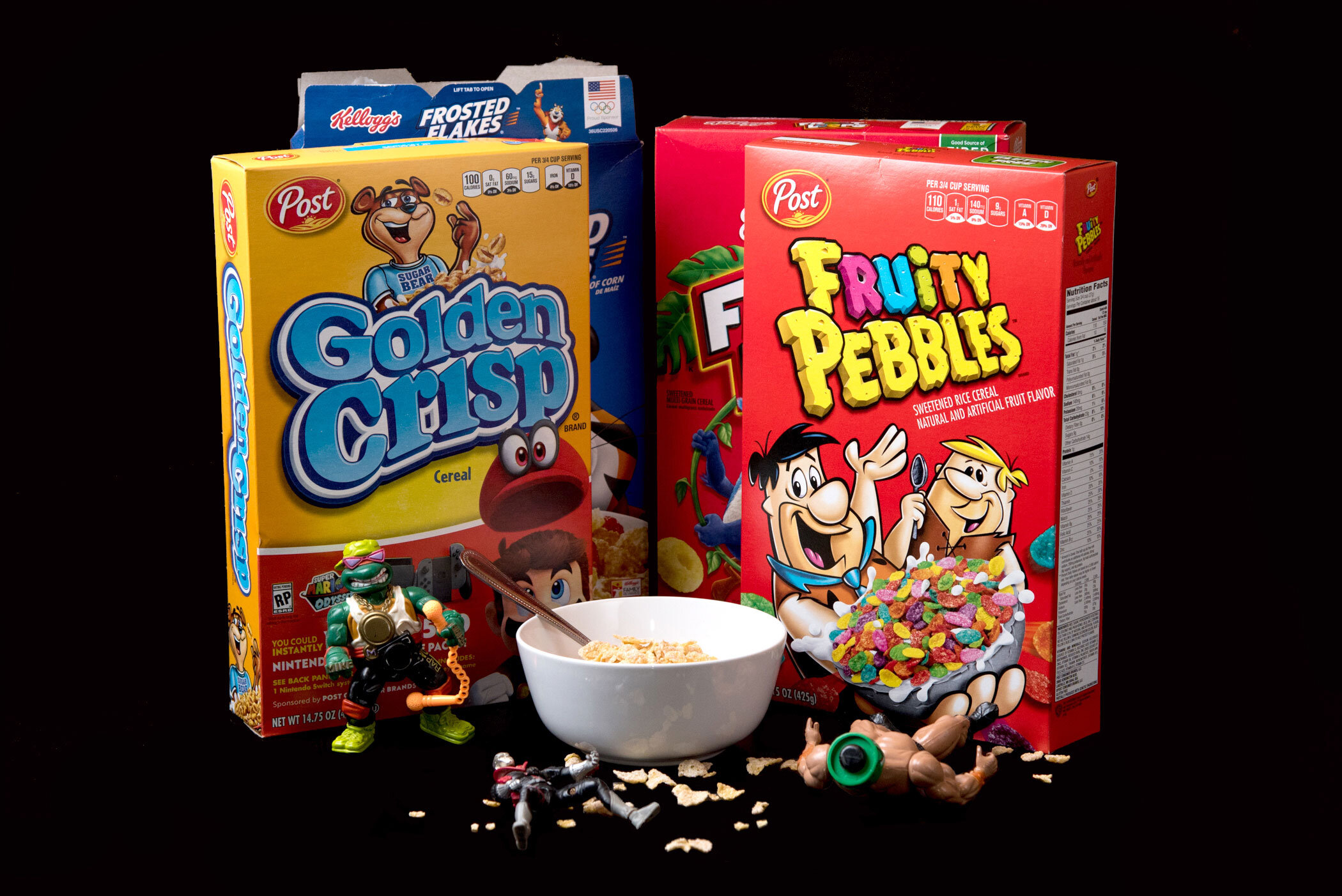 """""""Oooh, I love eatin' my cereal, when I'm watching my cartoons"""" - Supernatural, """"Breakfast Club"""""""