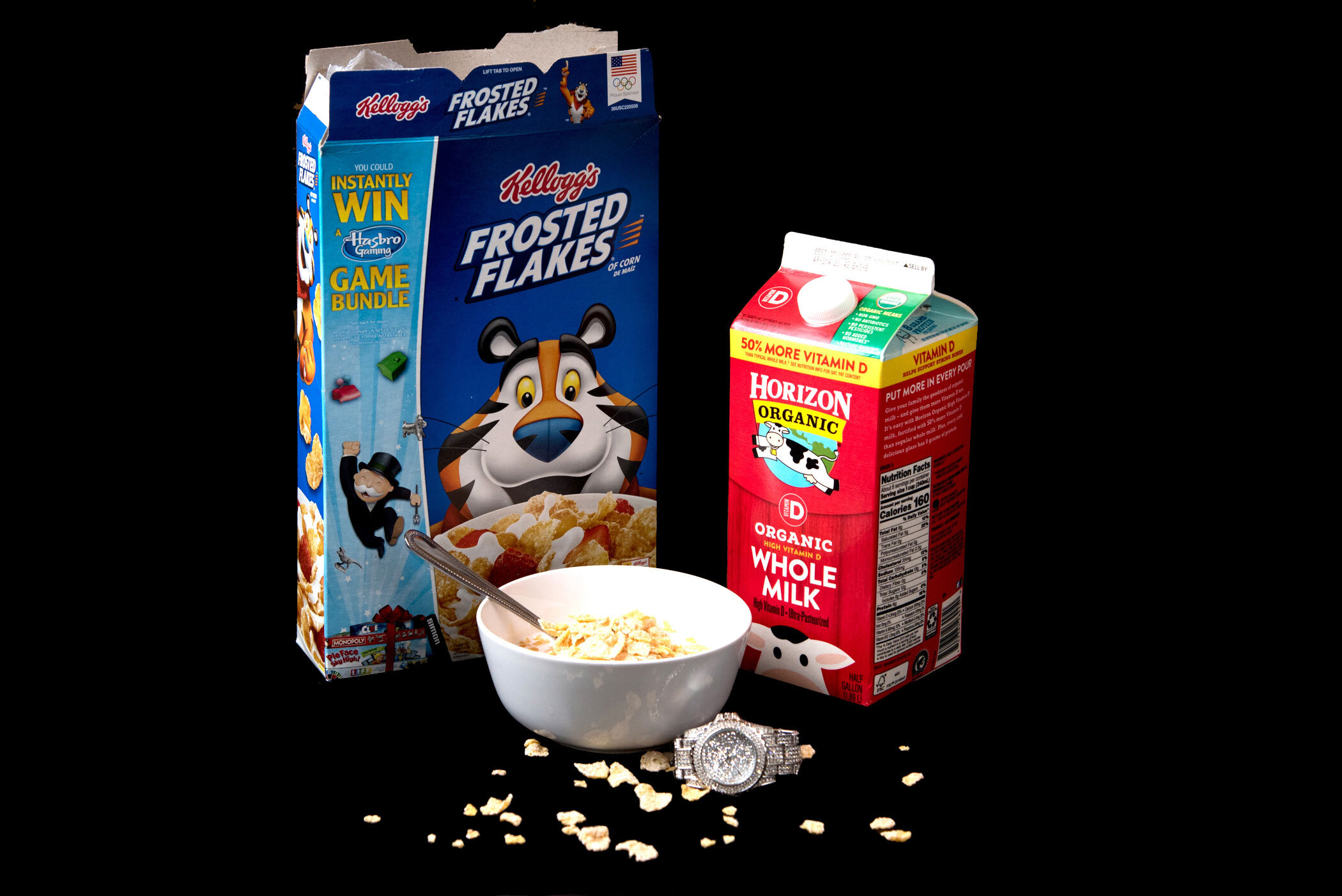 """""""I used to live in the P's, now it's a crib with a gate, Rollie got charms, look like Frosted Flakes"""" - Cardi B, """"Bodak Yellow"""""""