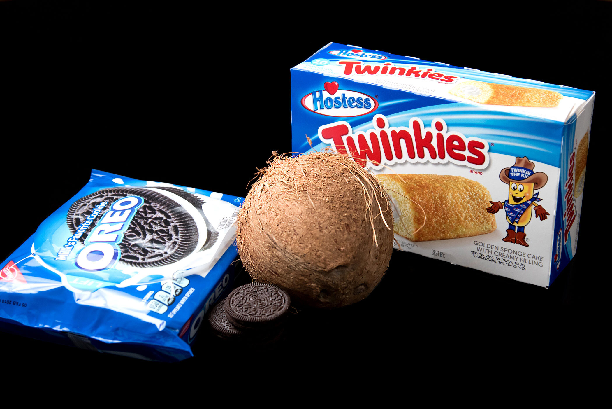 """""""Mm Food like Rapp Snitch Knishes, Cuz it's Oreos, Twinkies, coconuts, delicious"""" - Childish Gambino, """"That Power"""""""