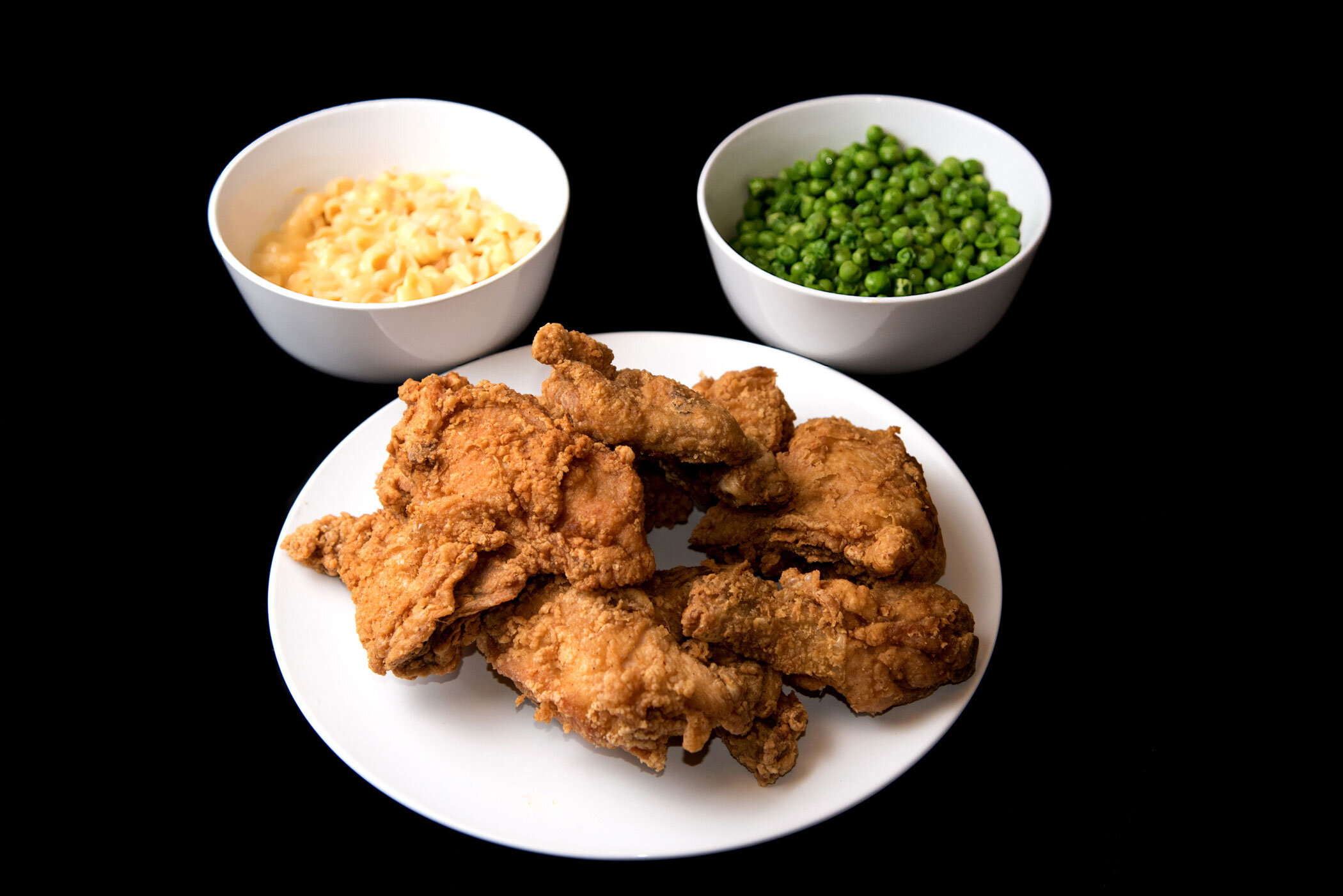 """""""I mean the macaroni's soggy the peas are mushed and the chicken tastes like wood"""" - Sugarhill Gang, """"Rapper's Delight"""""""