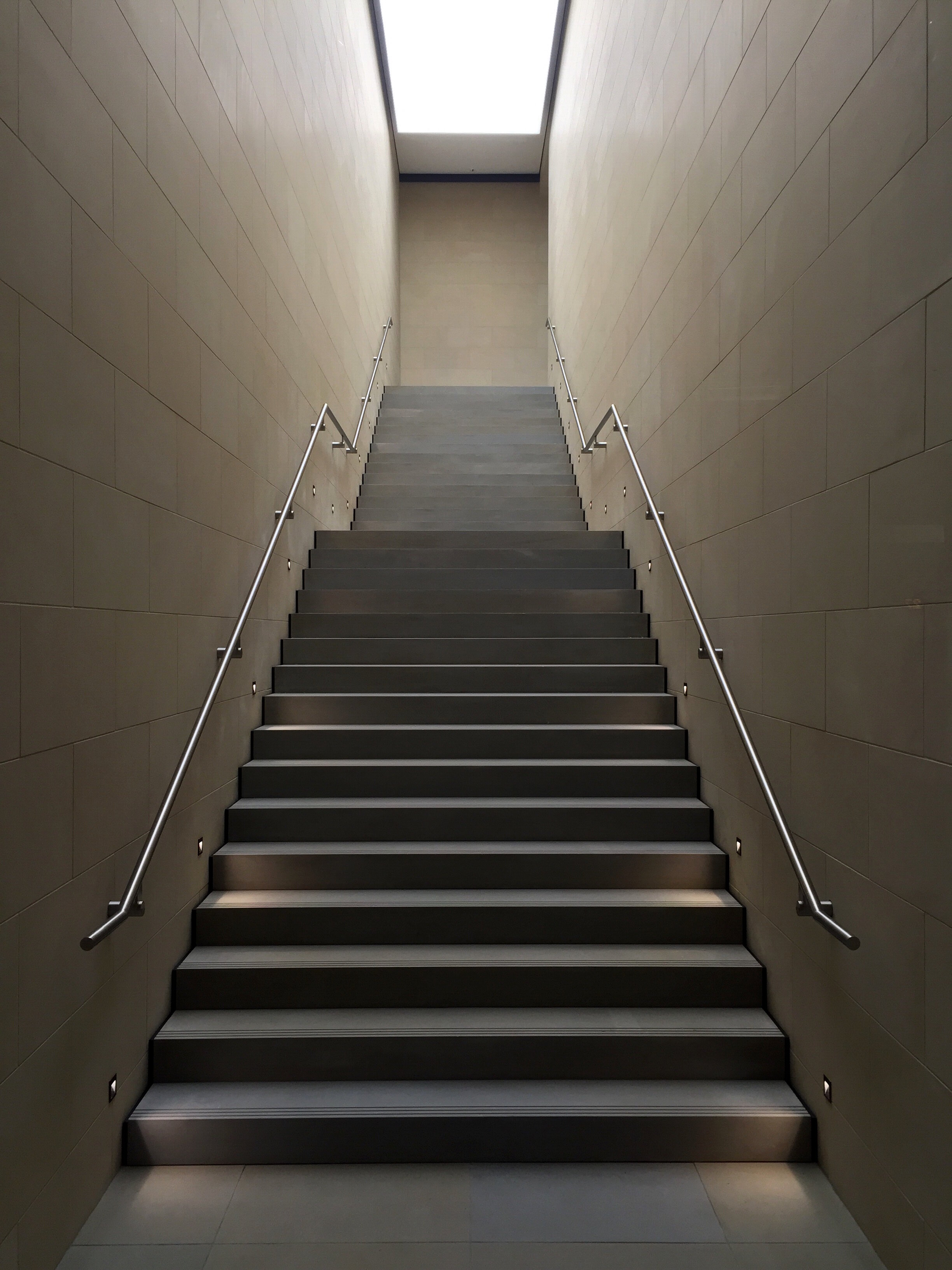 stairs going up to the outside
