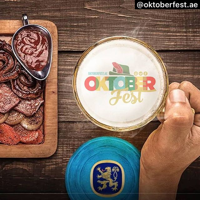 Not long now till the start of @oktoberfest.ae !! Don't miss out on this great celebration of all things German !! See you there ! #bavariancamels #i❤️bavariancamels #whatsonabudhabi #uaeevents #oktoberfestuae #oktoberfest2019 #timeoutabudhabi #prost