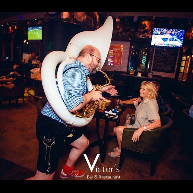 #bavariancamels Sousaphone player Kevin showing his romantic side while playing Angels!!! #bavariancamels #i❤️bavariancamels #rockandrollbrassgroup #oktoberfest2019 #oktoberfestuae @oktoberfest.ae #uaepartyband #bookusforyournextevent #dubaiperformers #uaeevents #livemusic #livemusicdubai #dubaiweddings #wowjbr #prost