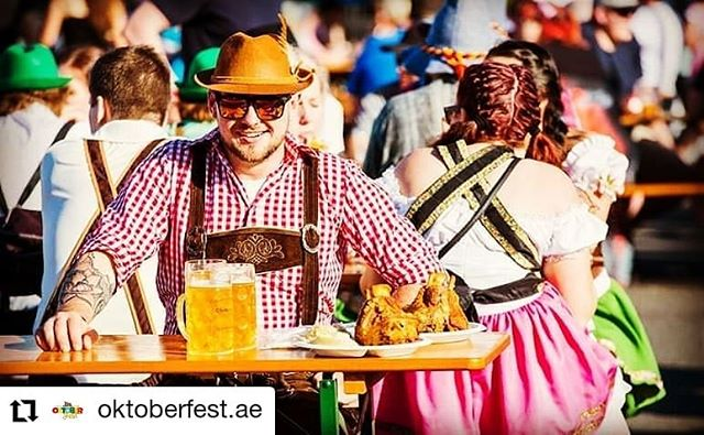 This weekend! 🍺  Come join us at the @westinabudhabi this Thursday, Friday and Saturday for @oktoberfest.ae  #Bavariancamels #i❤️bavariancamels #livemusic #brass #brassband #oompah  #Repost @oktoberfest.ae • • • • • • Join us on the events lawn at the @westinabudhabi for an epic Saturday; 11am-4pm RWC Qtr Finals - #EngvsFra #irevsnz 4pm-7pm Bavarian Brass Band 7pm-10pm Table Quiz / WIN BIG Prizes  2 FOR 1 DEALS TILL 6PM/ FREE ENTRY ALL DAY / FREE BEVERAGE BEFORE 7PM . . #oktoberfestabudhabi #oktoberfestuae #abudhabioktoberfest #rugbyworldcupzone #rugbyworldcup #RWC2019