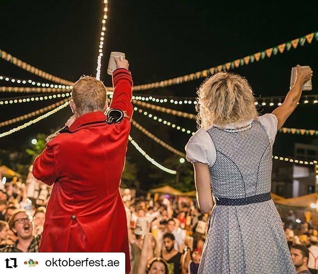 """Pleased to share that His Excellency, Peter Fischer, German Ambassador to the UAE will be with us at @oktoberfest.ae at the @westinabudhabi on Thursday 17th October! Prost!  #Bavariancamels #i❤️bavariancamels #brass #music #livemusic #abudhabi #oompah #oompahband  #Repost @oktoberfest.ae • • • • • • Wir freuen uns seine Exzellenz Herrn Peter Fischer, Deutscher Botschafter in den Vereinigten Arabischen Emiraten, zum Fassanstich am Donnerstag 17. Oktober zu begruessen.  Kommen Sie bevor 19 Uhr und geniessen Sie freien Eintritt und das erste Getraenk aufs Haus – O'Zapft is""""."""