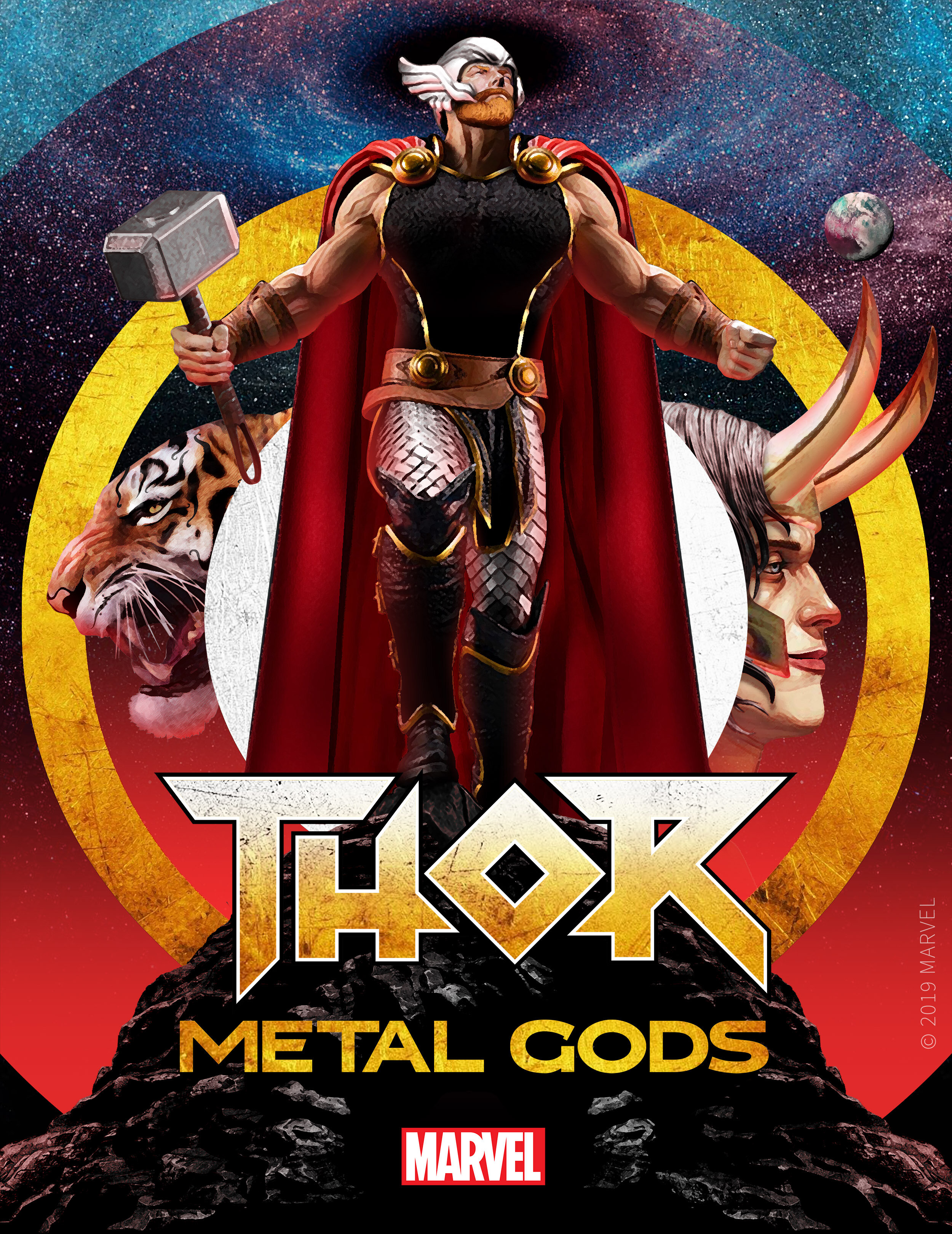THOR: METAL GODS - Thor: Metal Gods, an 8-part audio and prose series written by Brian Keene, Aaron Stewart-Ahn, Jay Edidin, and Yoon Ha Lee launches in December and is available for pre-order.