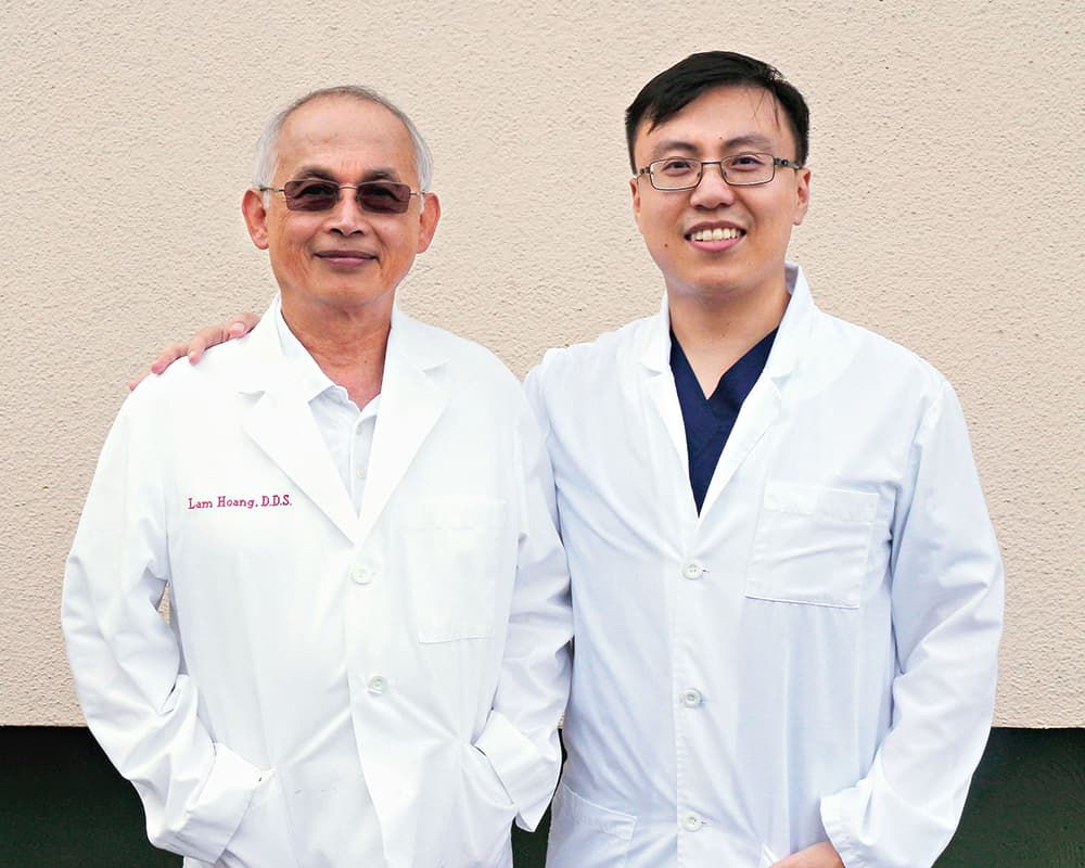 Our Dentists - Dr. He and Dr. Hoang are dedicated to providing quality care to their patients. They are passionate about their craft and look forward to welcoming patients to the Brown Trail Dental Family.