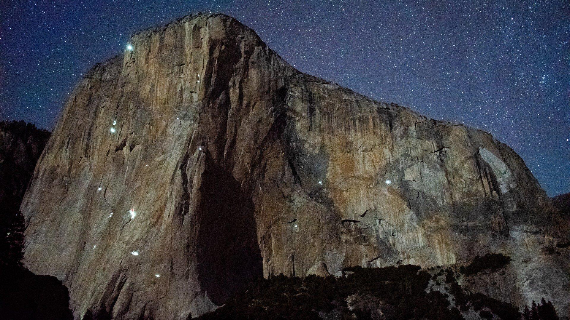 Mike DeNicola - El Capitan at night
