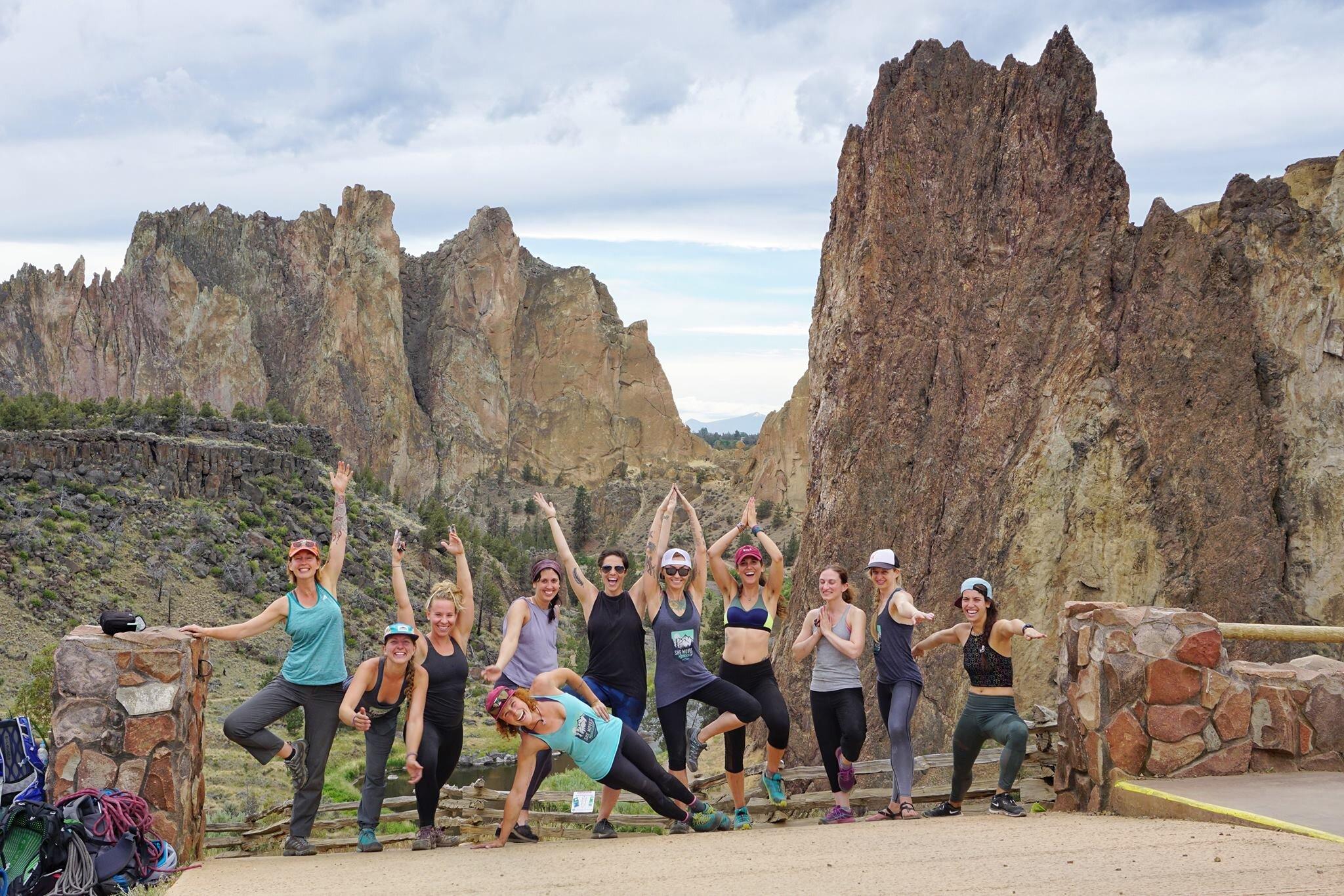 Female Climbing Mentors - She Moves Mountains