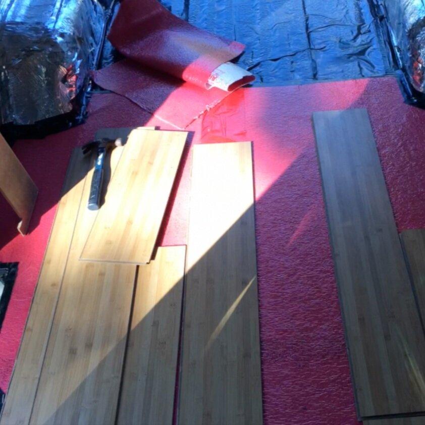 Hardwood floors - Kaya Lindsay
